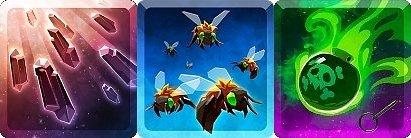 탭타이탄2 레이드 카드 Ravenous Swarm (게걸스러운 떼) 레이드덱