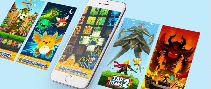 탭타이탄2(tap titans2) 홈페이지 이미지
