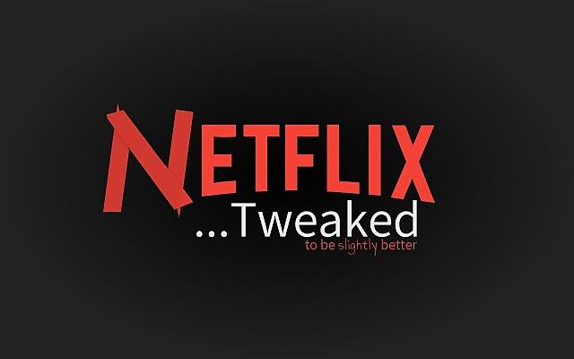 넷플릭스 예고편 자동 재생을 끄고 싶다면 Netflix Tweaked