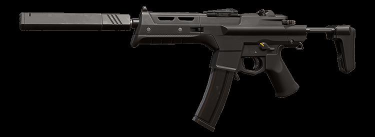 발로란트 기관단총 총기 스펙터