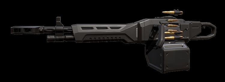 발로란트 기관총 총기 오딘