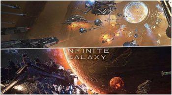 모바일 우주 전략 게임 '인피니트 갤럭시' 사전예약 실시